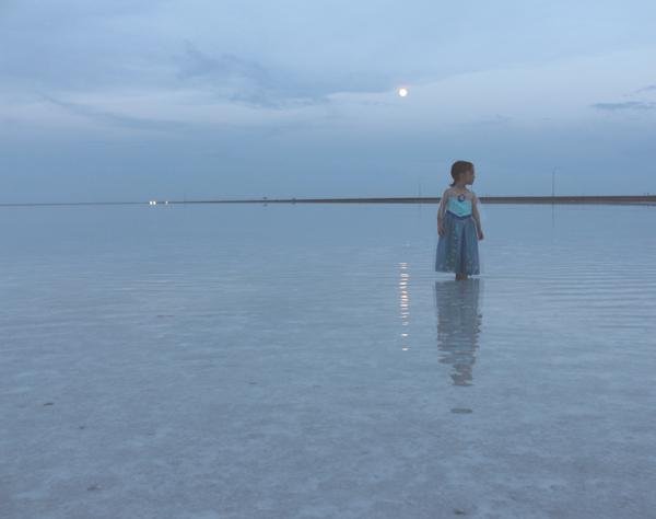 Queen Elsa and the moon #FROZENFun #shop