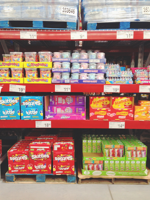Skittles and Starbursts at Sams Club #SweetOrTreat #CollectiveBias #shop