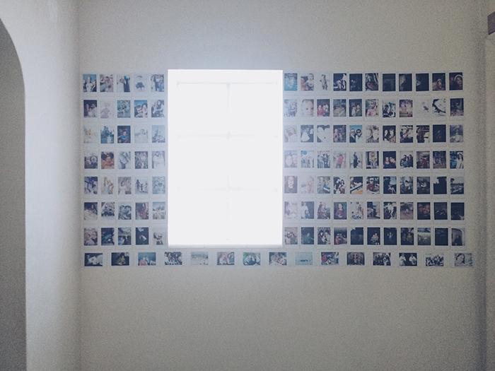 Instax Photo Wall