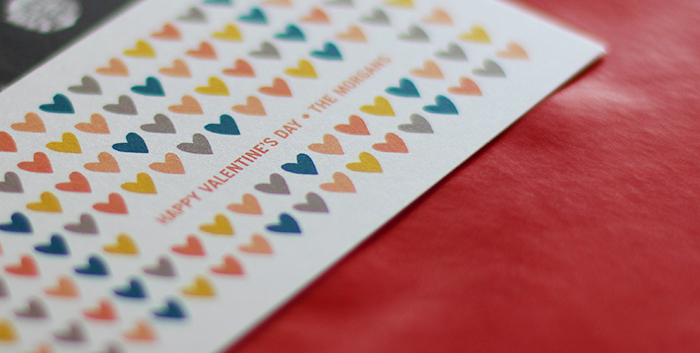 Pearlized valentines from Tiny Prints