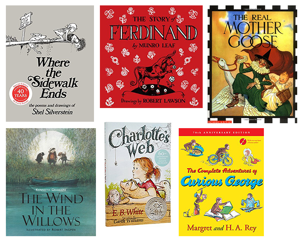 Great books to read at bedtime even for baby