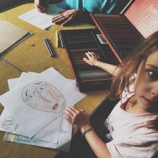 Kids Interested in Art