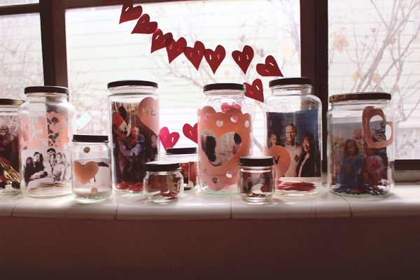 Love Collection: a Fun Way to Display Photos at Valentine's Day