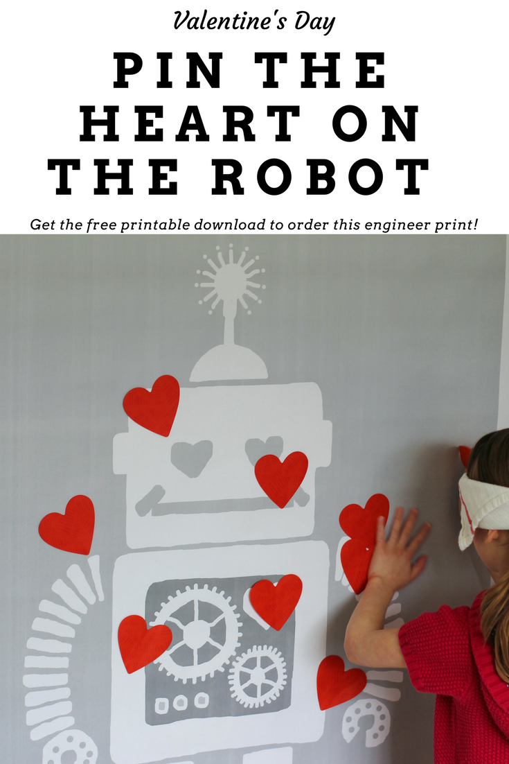 Free printable for a cute Valentine's Day game that would be perfect for a class party activity