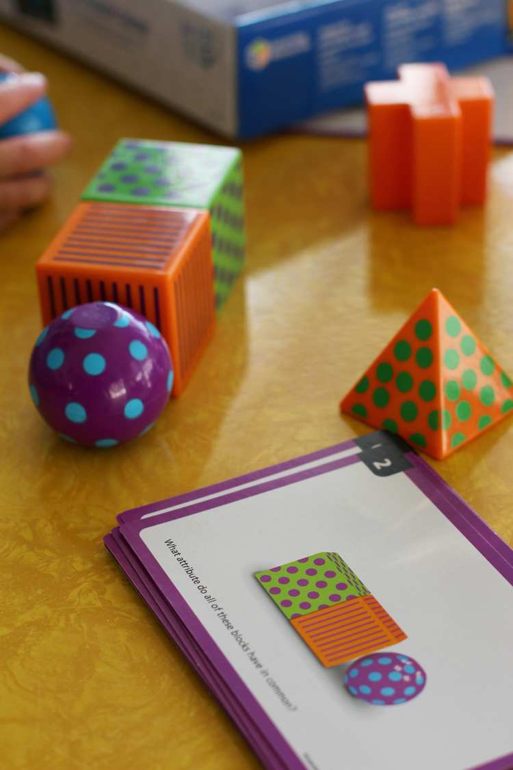 Mental Blox is the new math game from Learning Resources