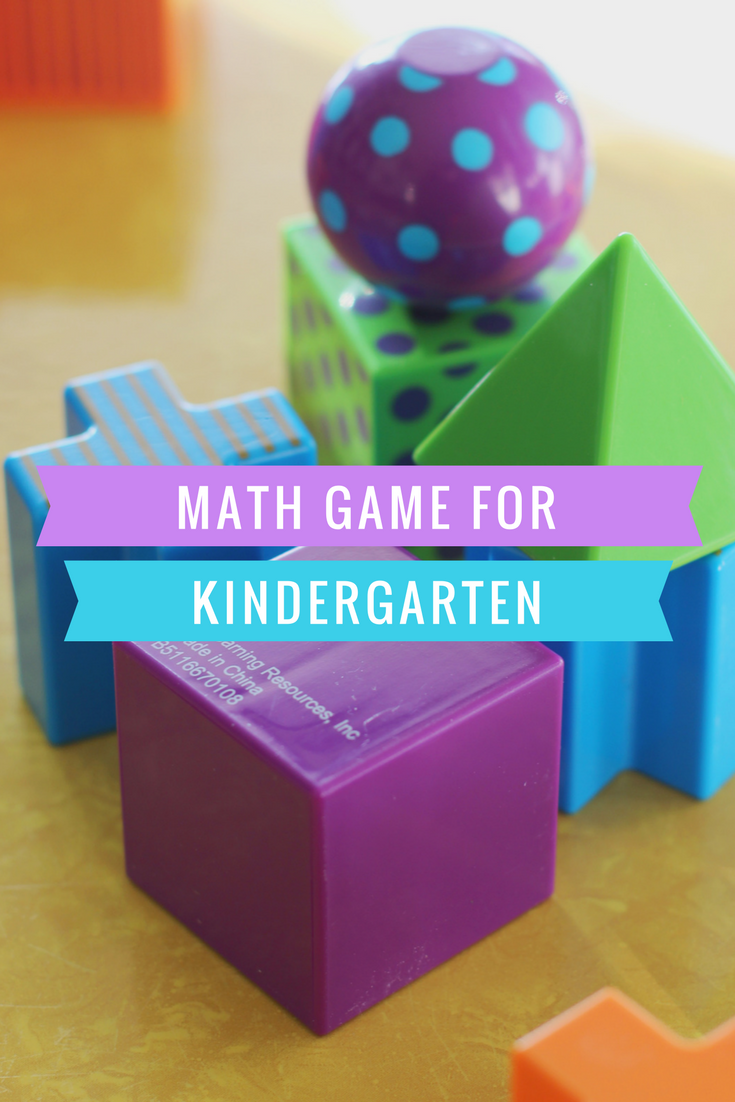 Fun Kindergarten level math game