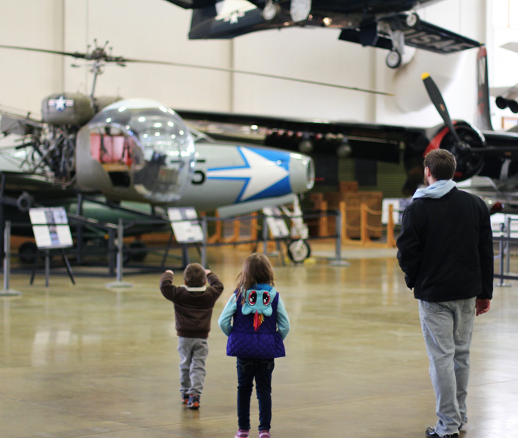 Family outing to Hill Air Force Base