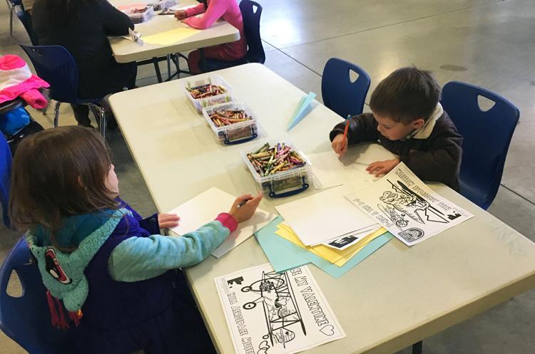 Kid activities at Hill Air Force Base