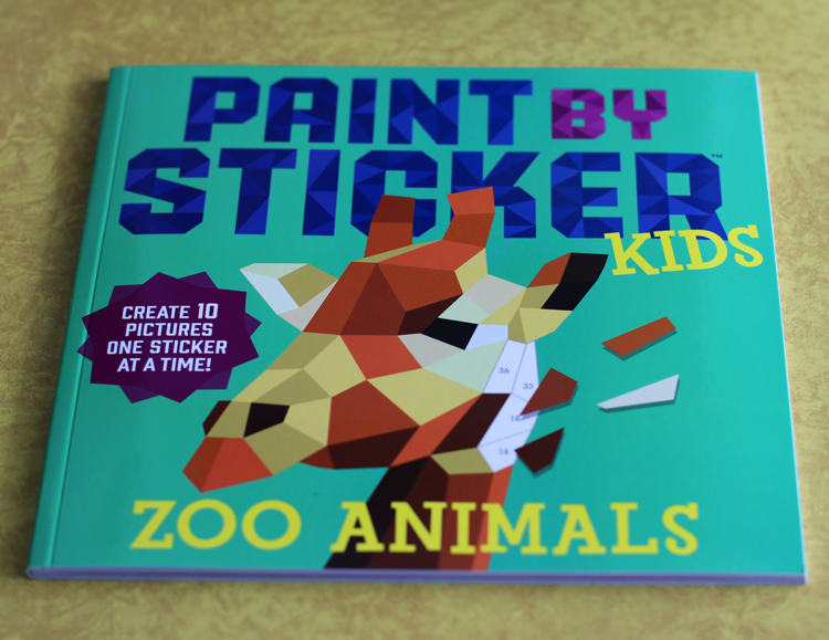 Paint by Sticker kid Zoo Animals