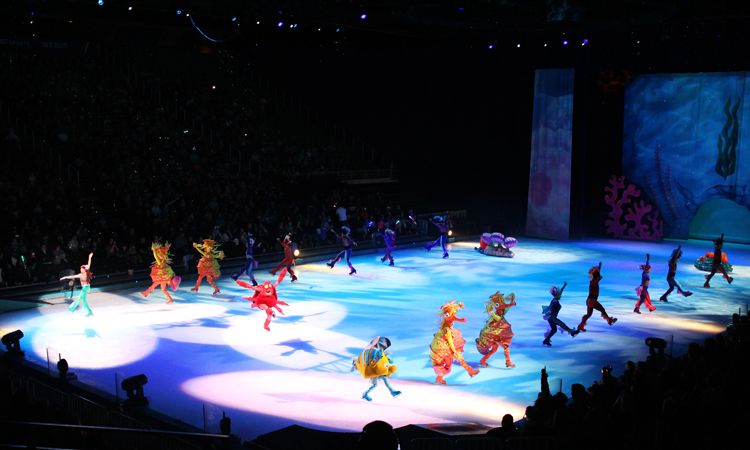 The Little Mermaid at Disney on Ice