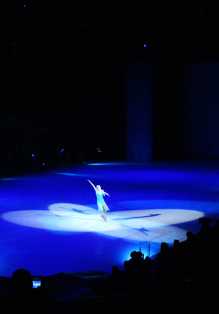 Queen Elsa at Disney on Ice