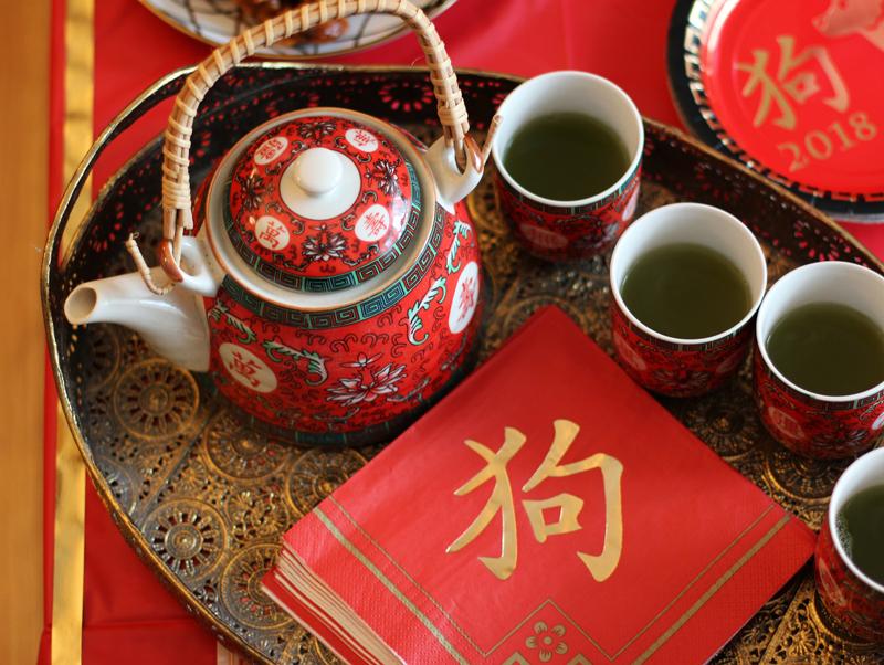 Chinese New Year Tea