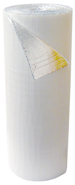 Double Bubble White Foil Insulation 4' x 75' - 300 s.f.