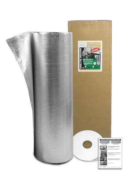 Garage Door Insulation Kit - Double Door