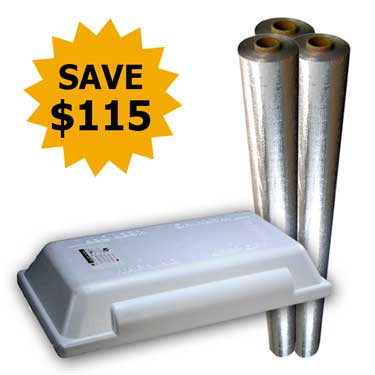 Radiant Barrier / Attic Stair Cover Kit - SAVE $115