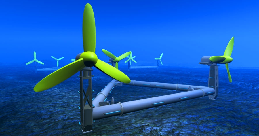 tidal energy Tidal energy is power produced by the surge of ocean waters during the rise and fall of tides tidal energy is a renewable source of energy.