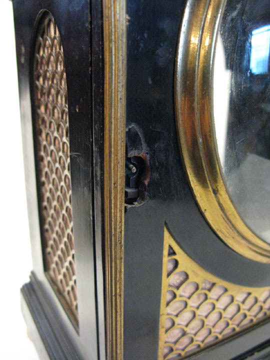 Damaged escutcheon