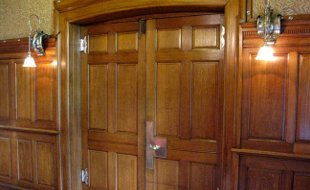 Doors restored