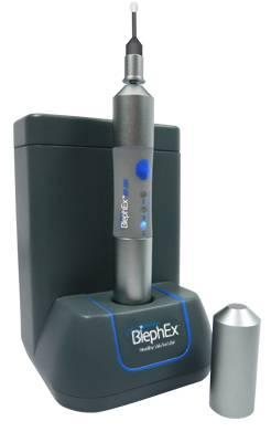 BlephEx machine for treating blepharitis