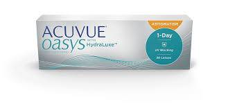 JJ 1 day acuvue oasys astigmatism in Fort Collins, CO