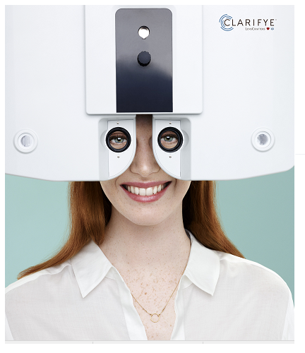 clarifye eye exam machine, Scottsdale, AZ optometrist