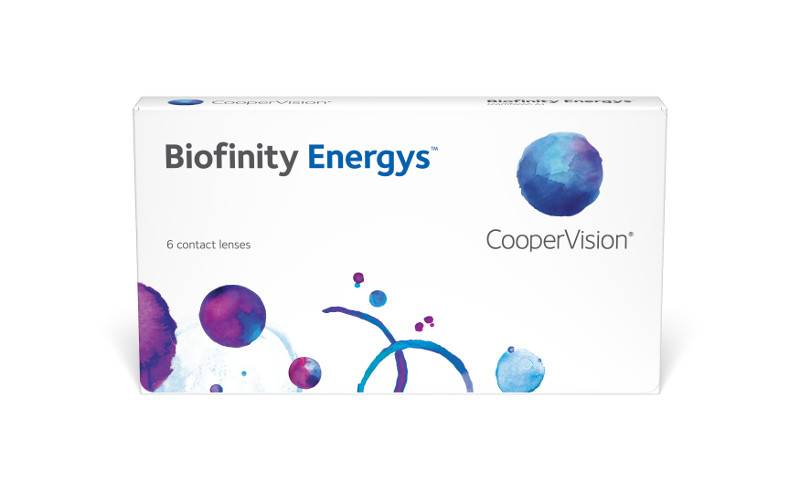 Eye doctor, biofinity energys asphere 6pk front in Lantana, FL