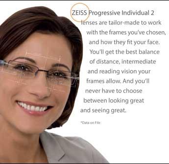 ZEISS Individual Custom Lenses in Cypress, TX