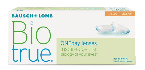 Eye Exam, Bausch and Lomb Bio True One Day Lenses in Seattle, WA.