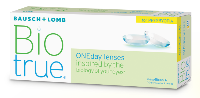 Eye Doctor, Bausch and Lomb Bio True One Day Lenses in Seattle, WA.