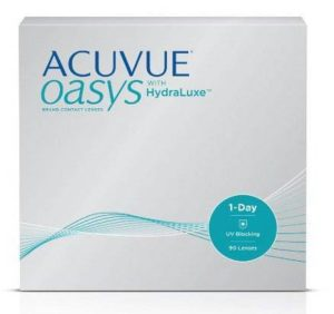 1 DAY ACUVUE® OASYS® with new HydraLuxe™ technology