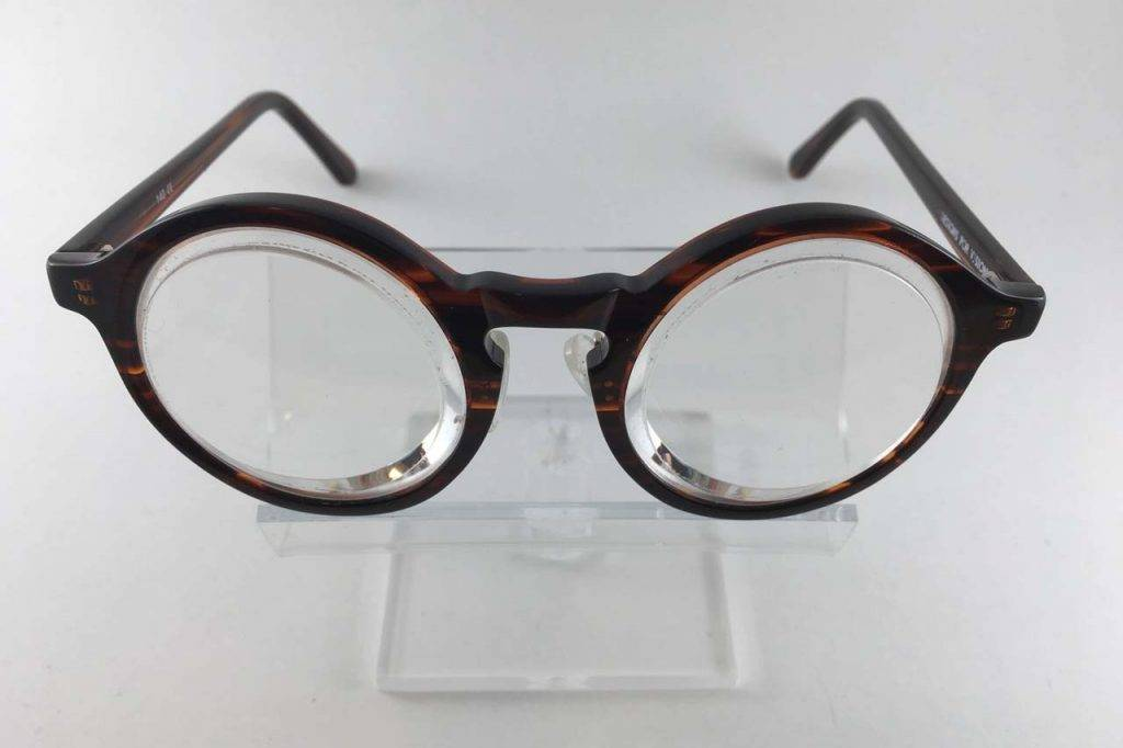 clear image prismatic reading glasses