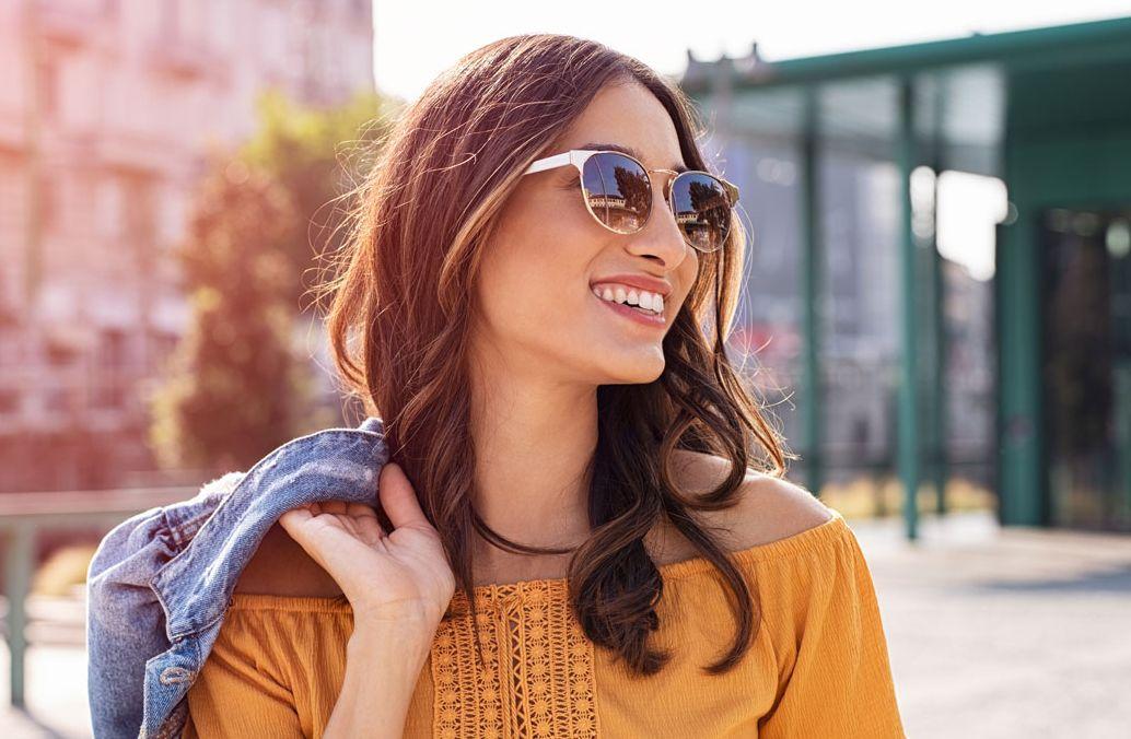 happy sunglasses after Lasik