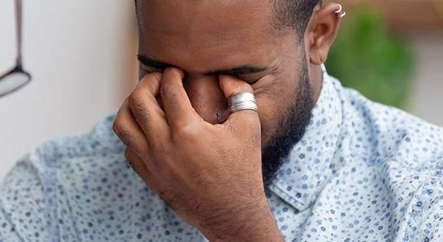 Dry Eye Africam American Man 640×350