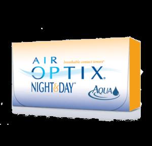 AIR OPTIX NIGHT AND DAY AQUA contact lenses