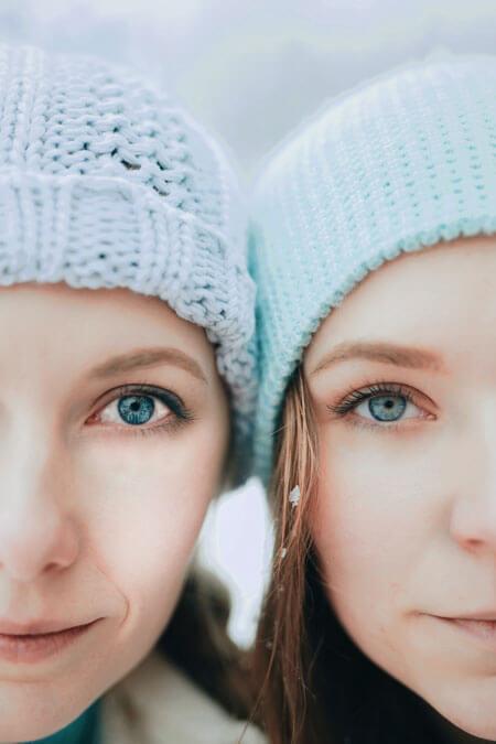 twin females