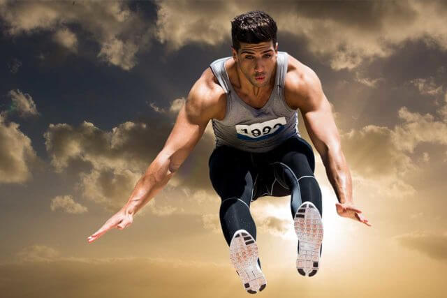 Long-jumper after using ortho-k for myopia