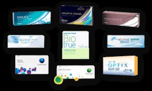 Contact Lenses Brands at EyeMechanix
