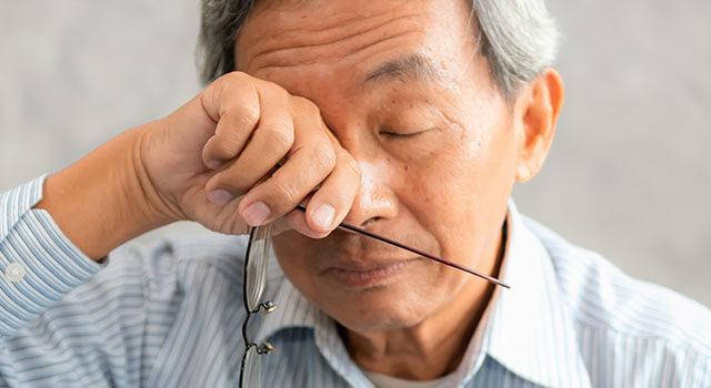 Dry Eye Asian Man 640x350