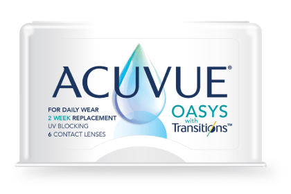 Transitions contact lenses in San Jose