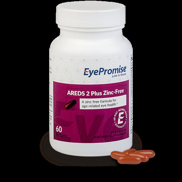 EyePromise AREDS 2 Zinc Free Eye Health Supplement
