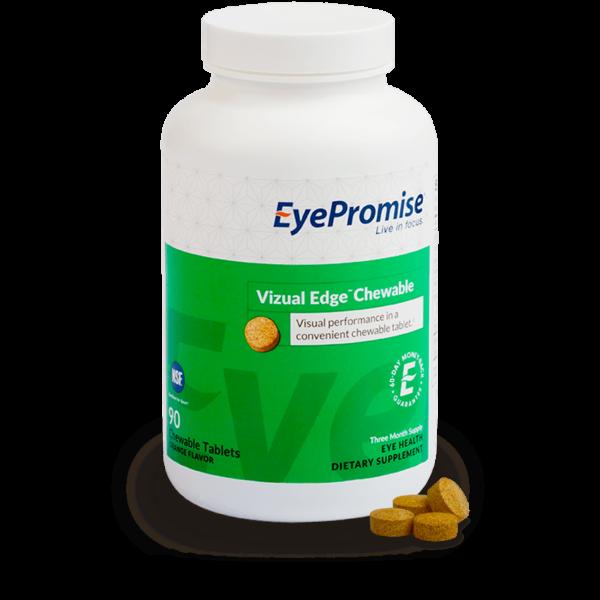 EyePromise Vizual Edge Chewable Eye Health Supplement