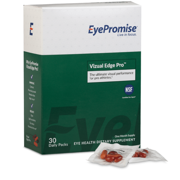 EyePromise Vizual Edge Pro Eye Health Supplement