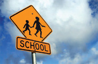 School-crossing-road-sign