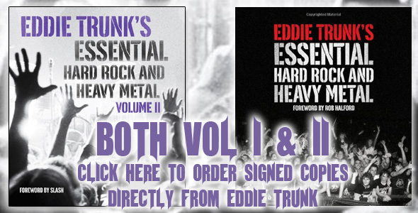 Order Signed Books directly from Eddie Trunk