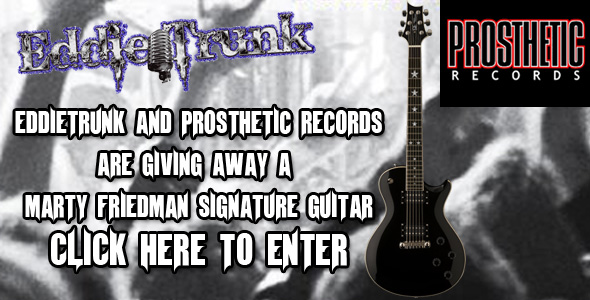 Marty Friedman Guitar Giveaway