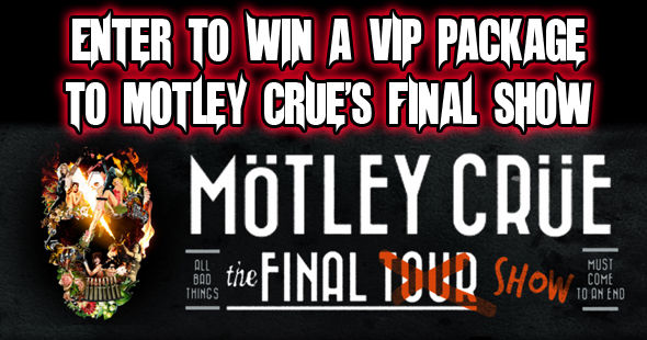 Motley Crue VIP Package Giveaway
