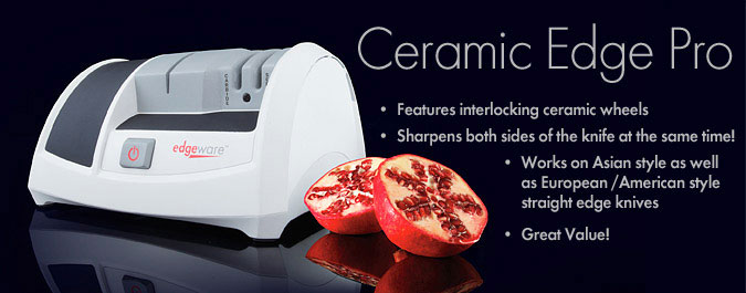 Ceramic Edge Electric Knife Sharpener