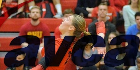 Volleyball player Leah Bisignani Named to All American Team