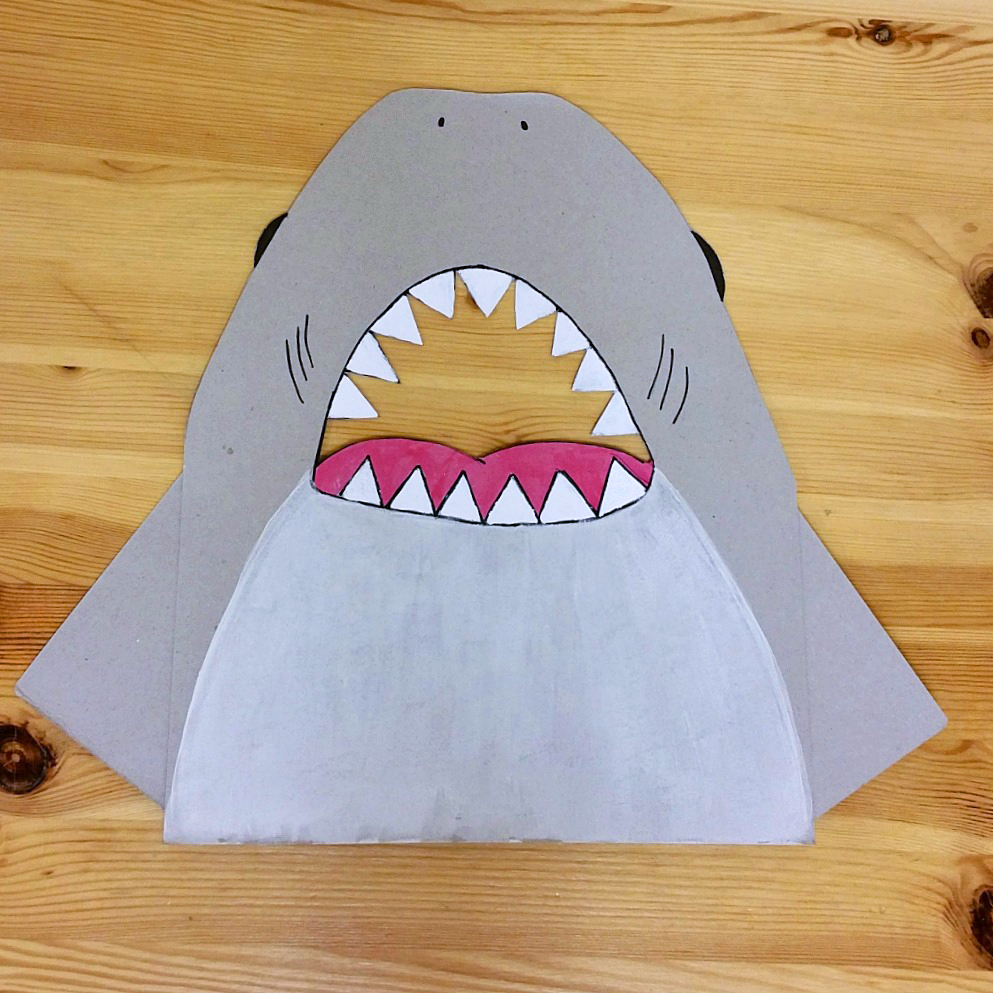 feed the shark preschool color identification game learn with