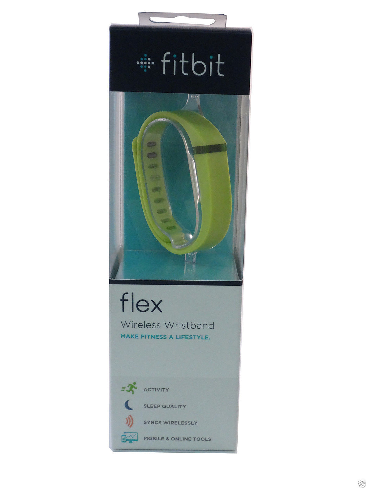 Fitbit FB401LE Flex Wireless Activity + Sleep Wristband ...